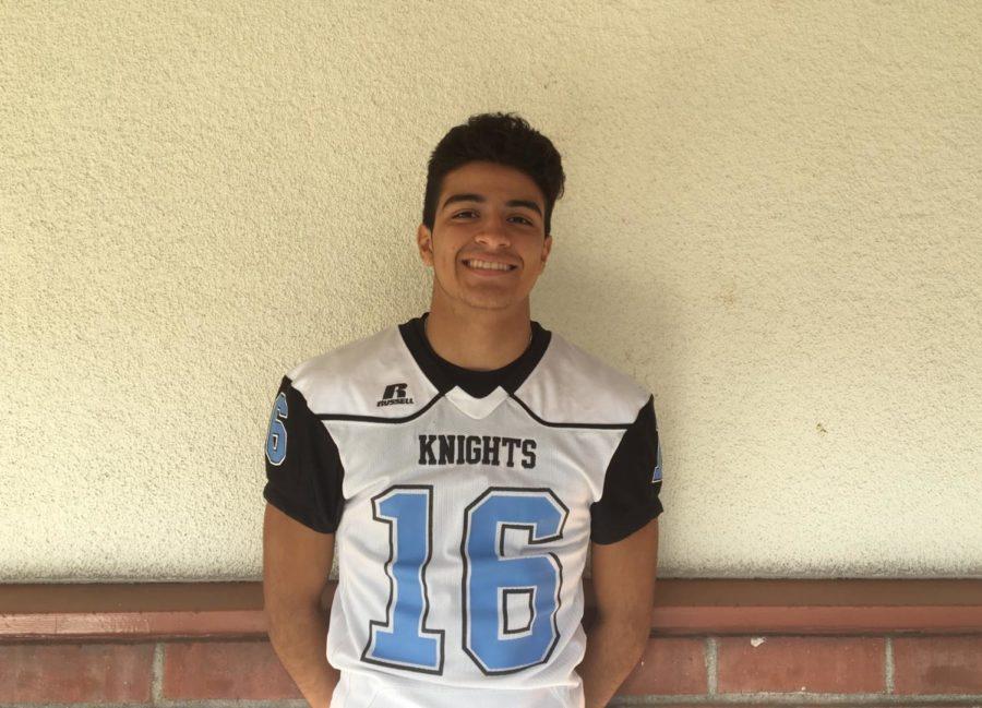 Varsity Football - Oliver Gonzalez