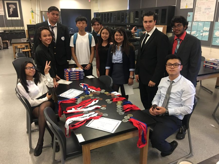 Academic Decathlon Demolishes the Competition