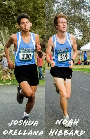 Varsity Boys Cross Country- Noah Hibbard and Joshua Orellana