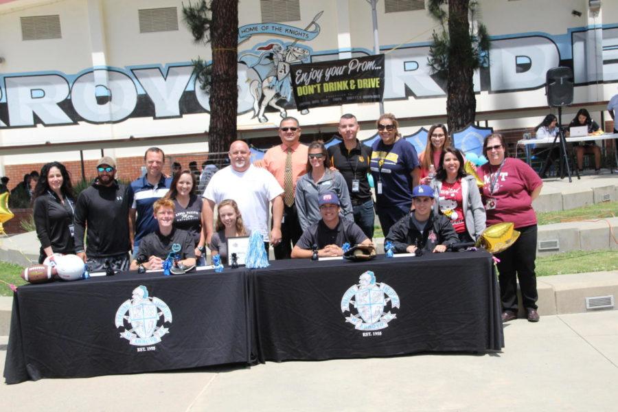 Senior Signing Rally