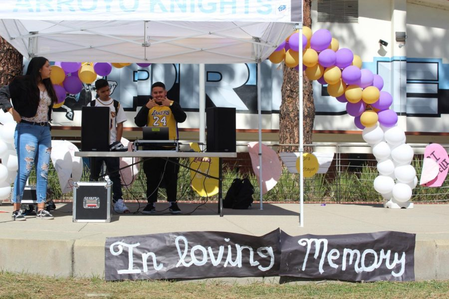 Arroyo Students Remember Kobe and Gianna Bryant