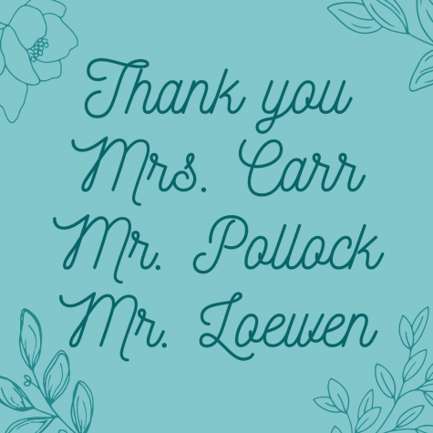 Thank you Mrs. Carr, Mr. Pollock, and Mr. Loewen